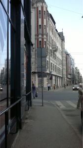Dzirnavu un Brīvības ielas stūris